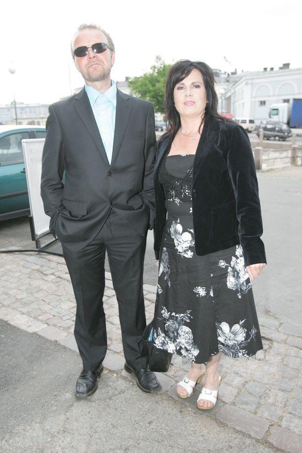 Kaija ja Markku Impiö olivat yhdessä 21 vuotta. Kuva vuodelta 2007.