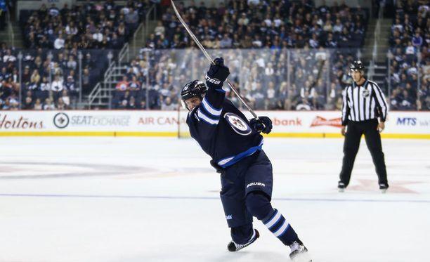Patrik Laineen edustama Winnipeg Jets hävisi Minnesotalle 1-5. Jetsin maalin viimeisteli Joel Armia.