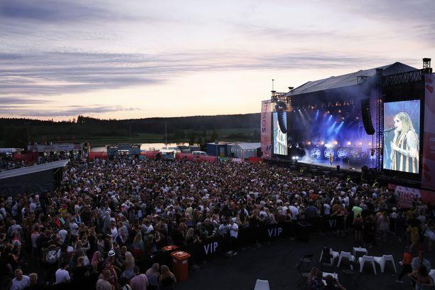 Lopuunmyydylle festivaalille päästettiin 5 000 kävijää.