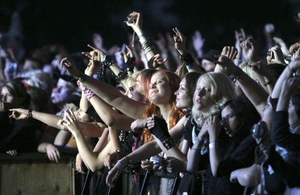 Isoja konsertteja ei hetkeen järjestetä