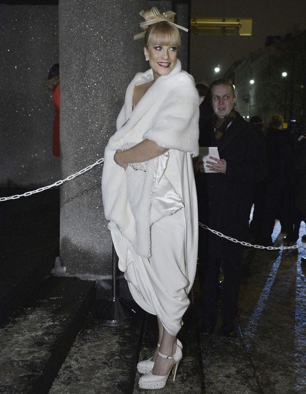 Laura on kuin lumikuningatar.