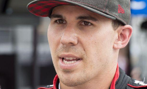 Robert Wickens joutui pahaan kolariin IndyCar-kisassa sunnuntaina.