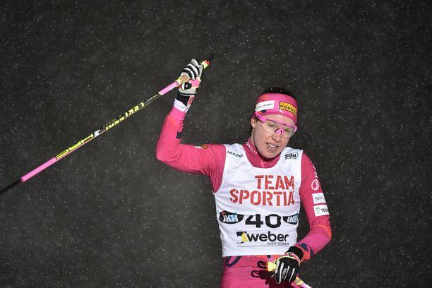 Kerttu Niskasen Tour de Ski jäi kesken vatsataudin takia, mutta palautuminen oli sujunut hyvin.