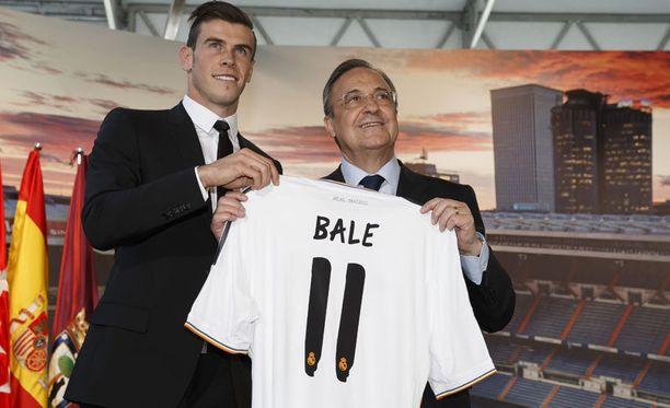 Gareth Balen siirtyi Madridiin maailmanennätyssummalla.