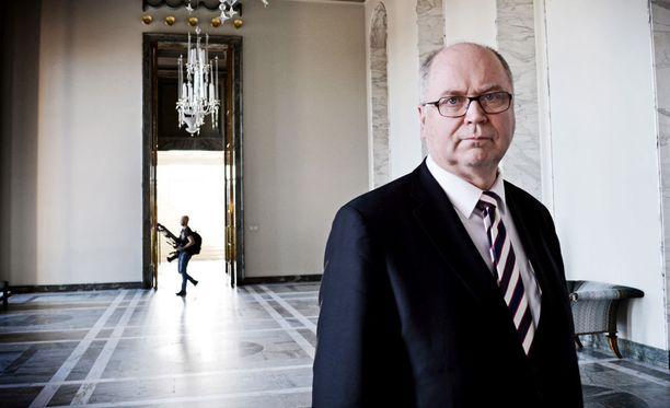 Eero Heinäluoma sanoi tyytyvänsä kohtaloonsa.