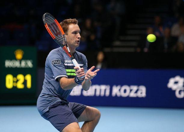 Henri Kontinen lähtee suosikkina Grand Slam -turnauksiin.