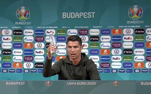 Cristiano Ronaldo aloitti ilmiön – Uefa jyrähti
