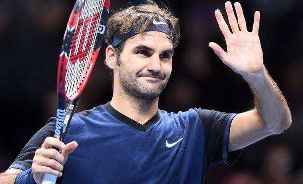 Roger Federer on totuttu näkemään siloposkena.