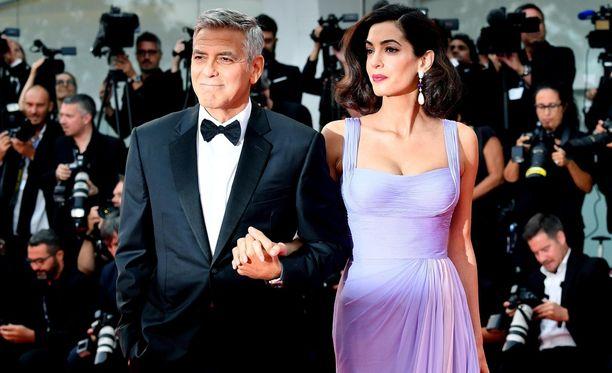 Amal Clooney on ollut vuodesta 2014 naimisissa George Clooneyn kanssa.