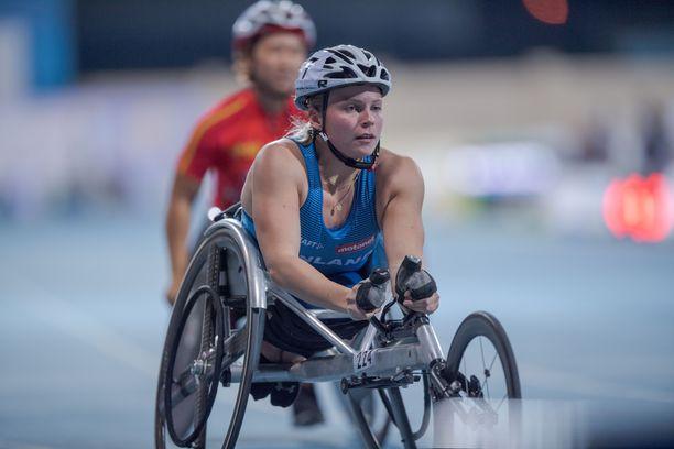Amanda Kotaja voitti uransa kolmannen maailmanmestaruuden.