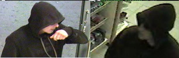 Huppumiehet ryöstivät Hervannan Shellin.