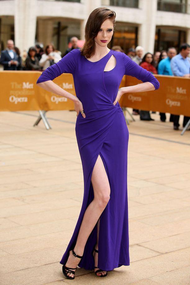 Coco Rocha valitsi American Ballet Theatren kevätgaalaan ylleen Escadan iltapuvun.