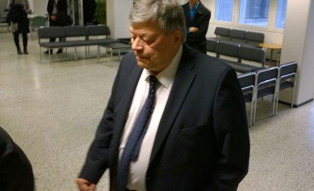 Osmo Suovaniemi Espoon käräjäoikeudessa tiistaina.