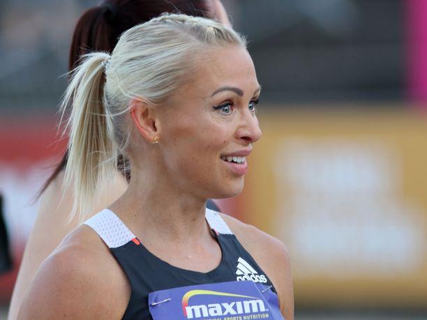 Suomen aitajuoksutähti Annimari Korte on yksi maksimituen saaneista urheilijoista.