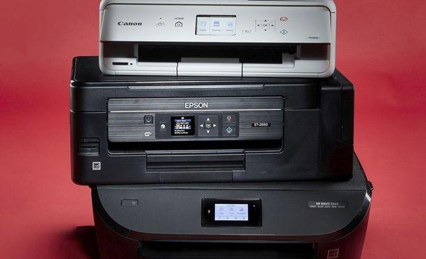 Mikrobitti testasi uudet tulostimet.