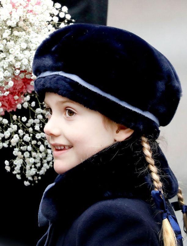 Prinsessa Estelle tunnetaan linssiluteena.