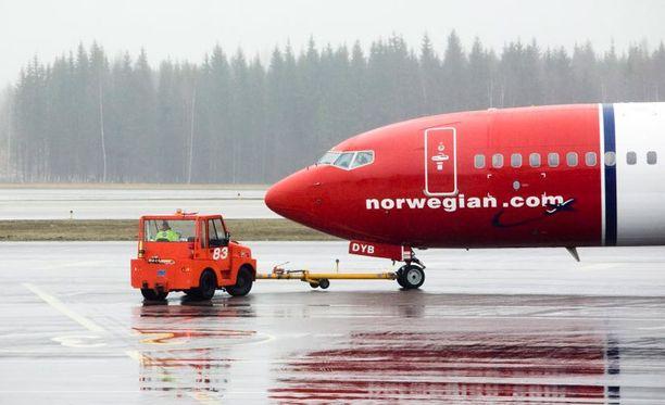 Lento Las Palmasista Ouluun teki välilaskun Osloon.