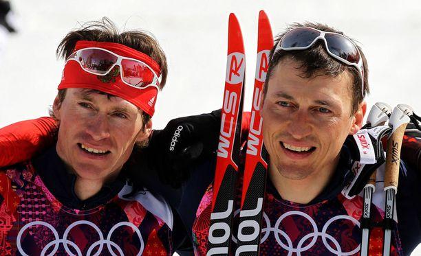 Maksim Vylegzhan ja Aleksandr Legkov ovat dopinghyllyllä.
