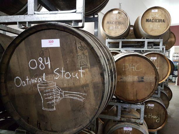 Tynnyrikypsytetyt oluet ovat olutnautinnon fine diningia.