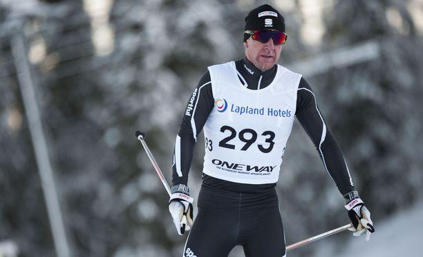 Tero Similä oli lauantaina mukana Oloksen Tykkikisoissa. Hän oli perinteisen kympillä 43:s.