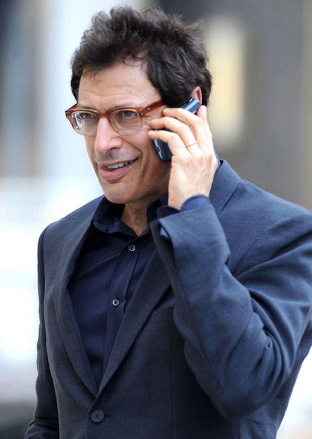 Näyttelijä Jeff Goldblum on managerin mukaan Los Angelesissa täysissä voimissaan.