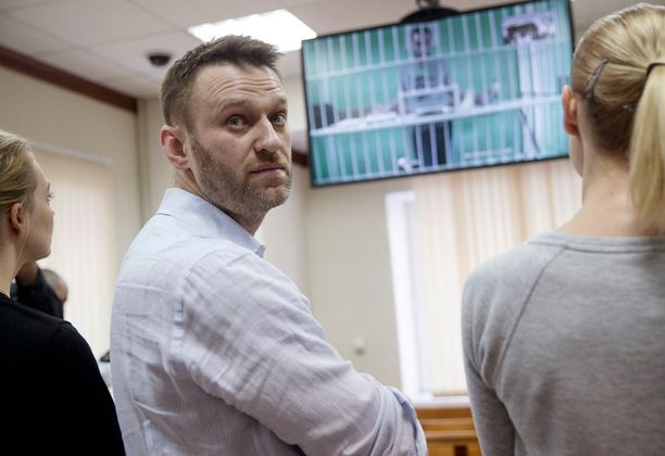 Aleksei Navalnyi puhui tiistaina videon välityksellä vankilassa istuvalle veljelleen Olegille.