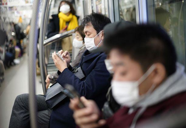 Japanin tartuntatilanne on viime päivinä pahentunut.