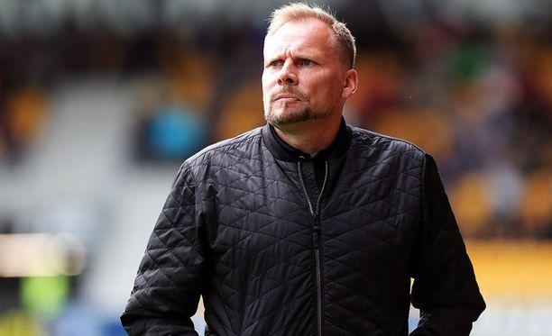 FC Lahden päävalmentaja Toni Korkeakunnas joutui pettymään Eurooppa-liigan ensimmäisellä karsintakierroksella.