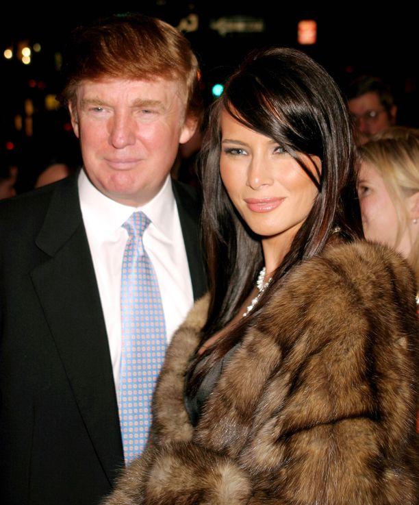 Melania ja Donald Trump tapasivat 1990-luvun puolivälissä New Yorkissa.