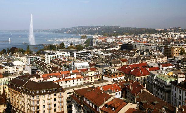 Geneve, Sveitsi.