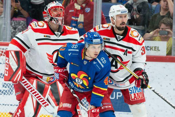 Antti Pihlström meni Avtomobilistin maalille, jossa Jakub Kovar oli ohittamaton. Jokerit hävisi 0-3.