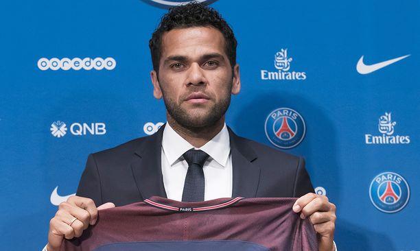Dani Alves on nyt PSG:n mies.