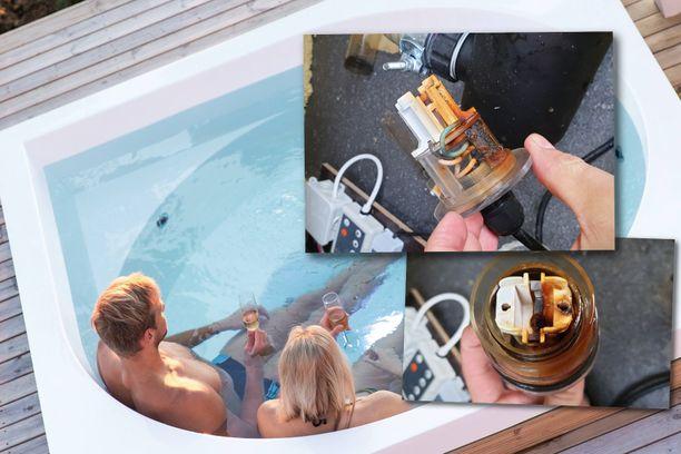 Liikaa kuumentunut vesi ja kärähtänyt UV-suodatin tekivät Tatun Drop Design Pool -altaasta suorastaan hengenvaarallisen.