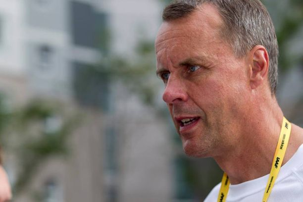 Jarmo Mäkelä on Urheiluliiton toimitusjohtaja.