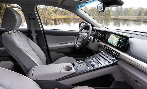 Hyundai Nexossa on yhdistetty onnistuneesti futuristisuus ja hyvä käyttökokemus.