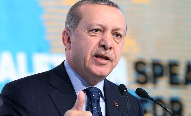 Recep Tayyip Erdogan, Turkin presidentti.