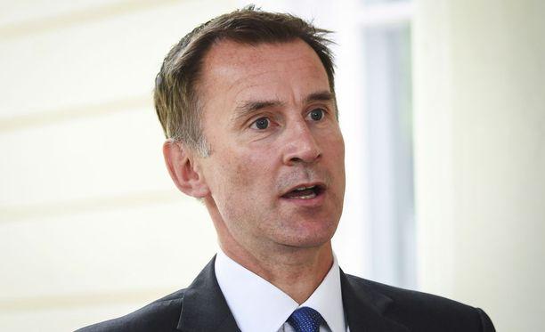 Ulkoministeri Jeremy Hunt nimitettiin virkaan viime kuussa Boris Johnsonin erottua tehtävästä vastalauseena hallituksen eroehdotukselle.