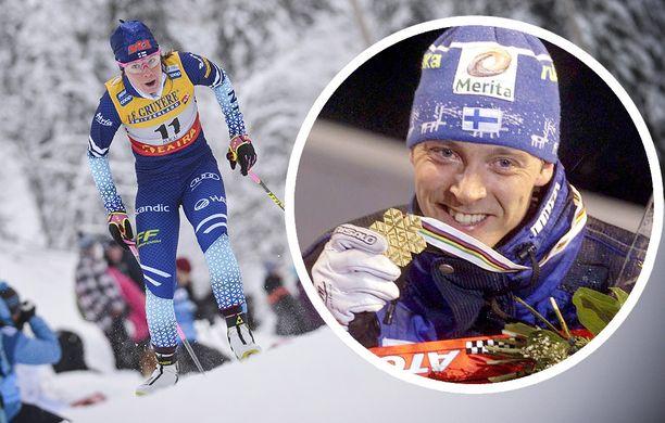 Kerttu Niskanen sai lempinimen Mika Myllylän mukaan.