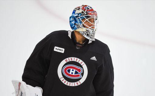 NHL-tähden laukoma kiekko meni maskista läpi – nyt maalivahti esitteli haavaansa