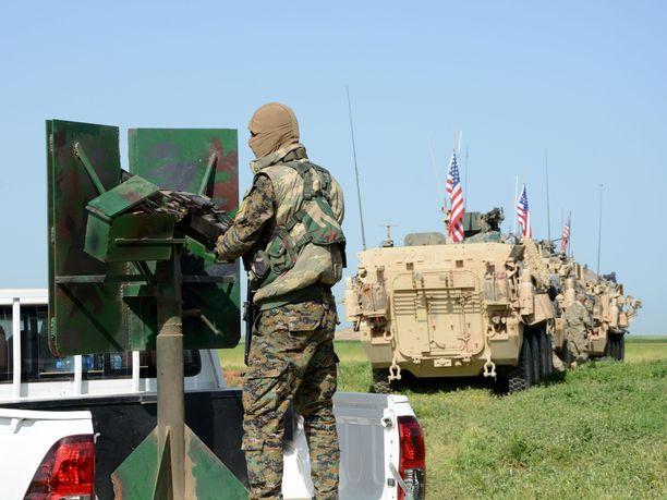 USA:n armeija on tukenut Syyriassa pääasiassa kurdijohtoisia SDF-joukkoja