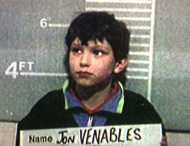 Jon Venablesin pidätyskuva.