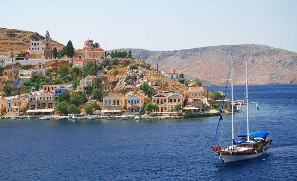 Kreikan turismi on kovassa nousussa.