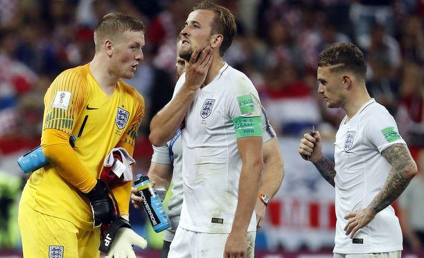 Katsoja nappasi videolle Englannin pelaajien salamamaaliyrityksen.