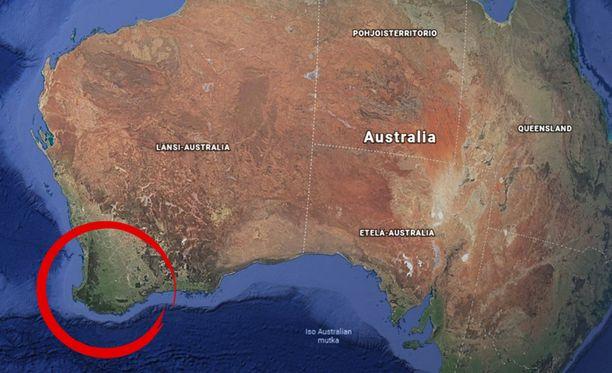 Joukkoampuminen tapahtui pienen kylän liepeillä, joka sijaitsee aivan Australian lounaiskärjessä.