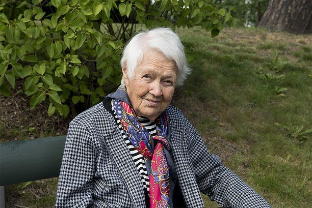 Vuonna 1916 syntynyt Eila Vennala on asunut samassa talossa vuodesta 1928 asti.