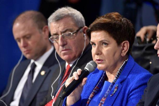 Puolan pääministeri Beata Szydlo mukaan nuorissa on valtavasti potentiaalia, jota pitäisi korostaa entistä enemmän.