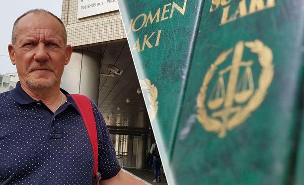 Juha Rautaheimo kritisoi oikeuden tapaa soveltaa lakia väkivaltarikostuomioissa.