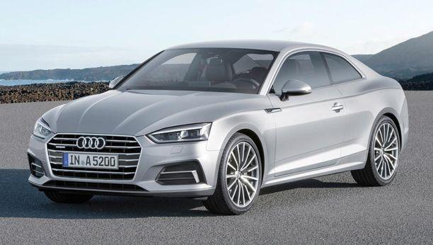 8. Audi A5 Coupe on saapunut Suomeen myöhään syksyllä.