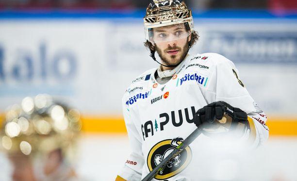 Charles Bertrand voitti Kärpissä maalikuninkuuden ja jatkaa matkaansa yhden Oulun-vuoden jälkeen.