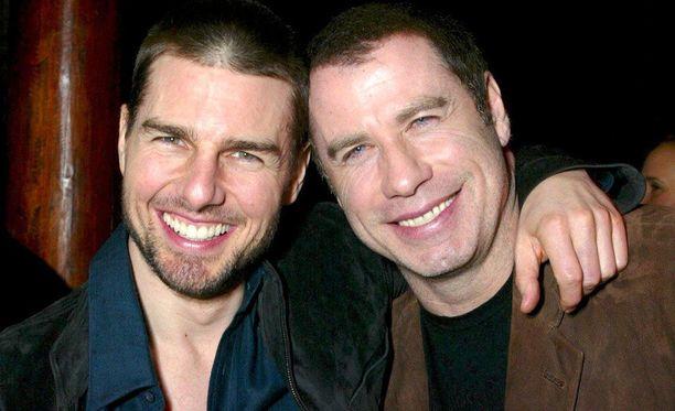 Tom Cruise ja John Travolta olivat hyviä ystäviä vielä 2000-luvun alussa.